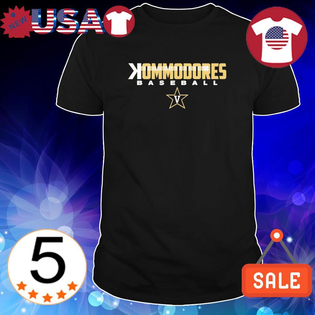 Backwards K Kommodores baseball shirt