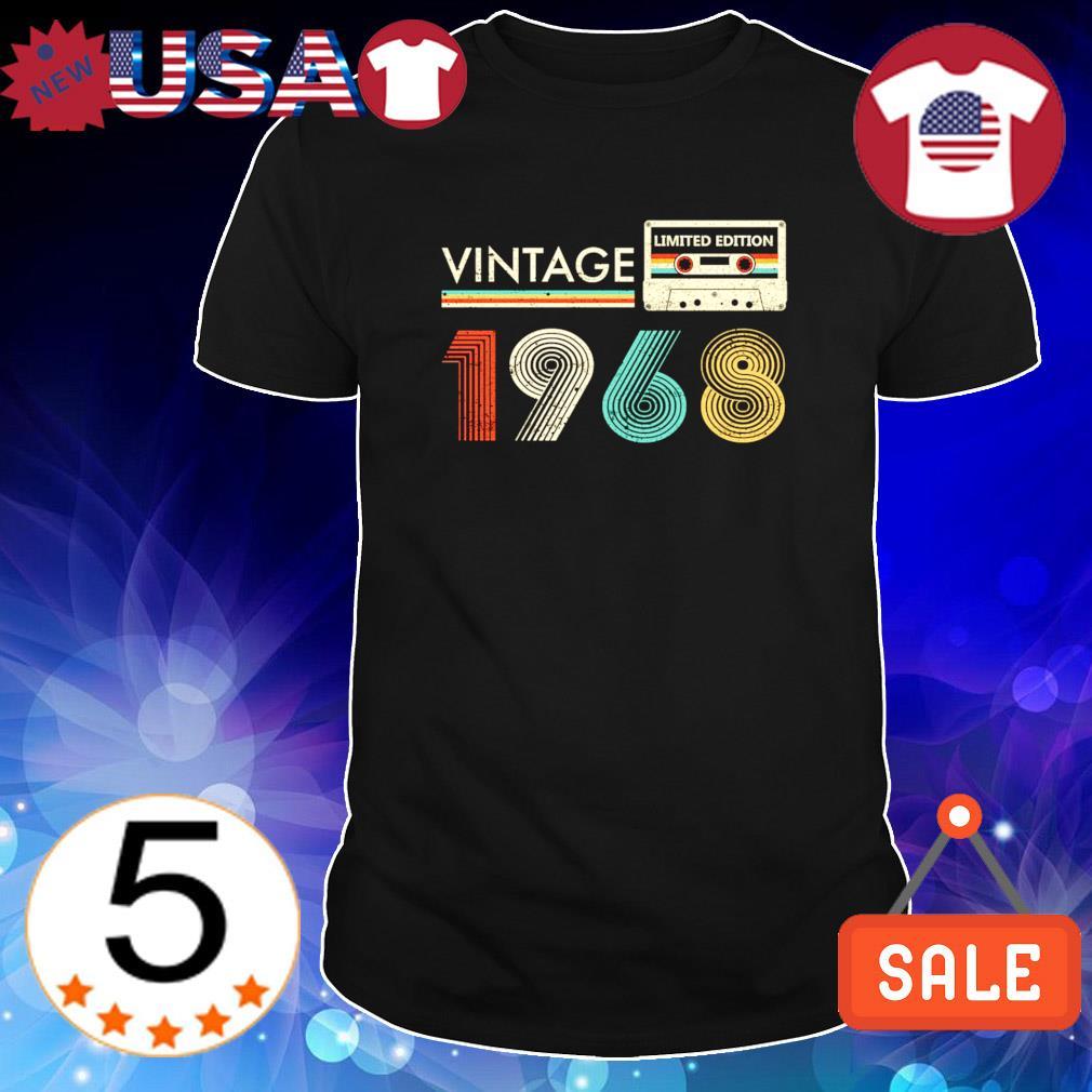 Limited edition Cassette vintage 1968 shirt