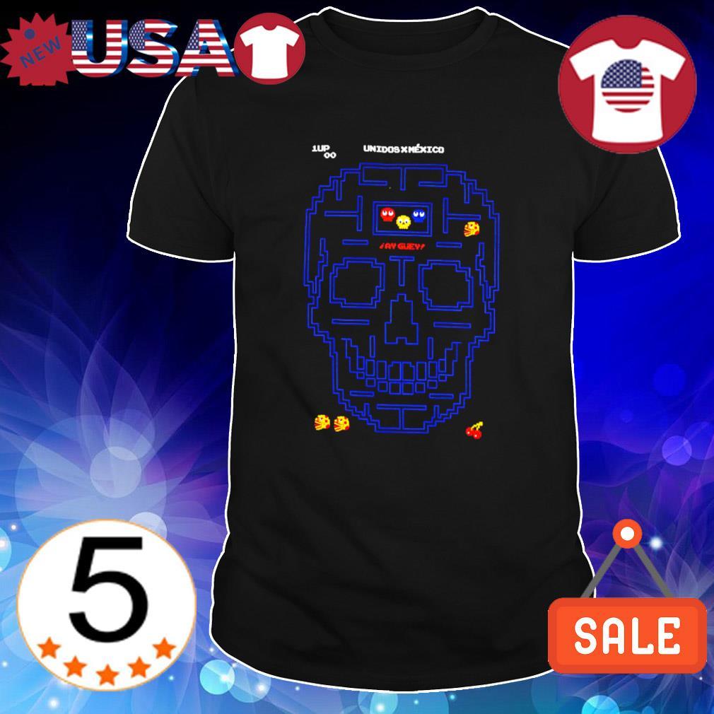 Unidos Mexico Pacman skull shirt