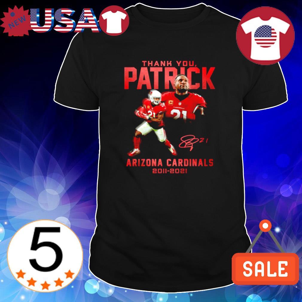 Arizona Cardinals thank you Patrick 2011 2021 shirt