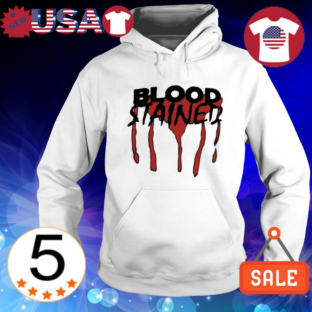 Blood stained s Hoodie White