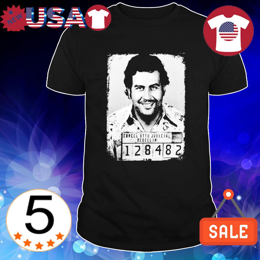 Carcel dtto judicial medellin Pablo Escobar shirt