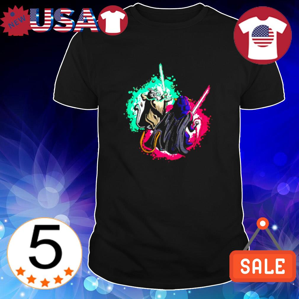 Cat Wars Light Swords Star Cats shirt