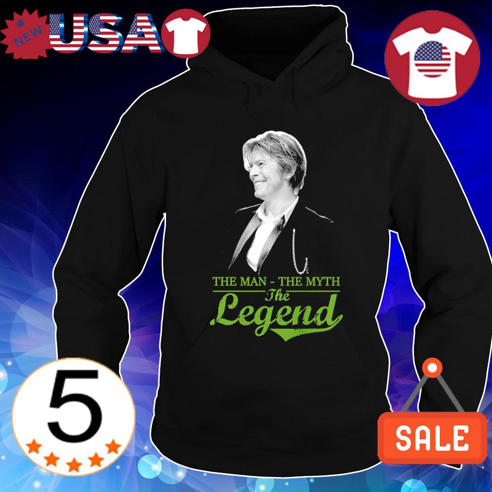David Bowie the man the myth the legend s Hoodie Black