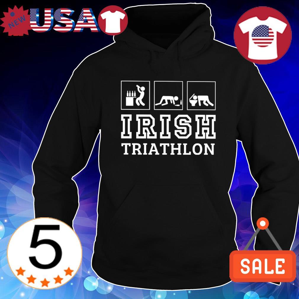 Drunk Irish triathlon s Hoodie Black