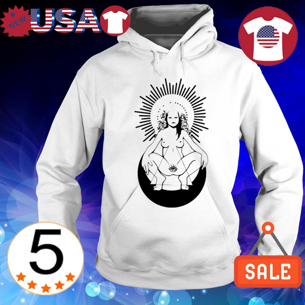 Girl nude ready to live s Hoodie White