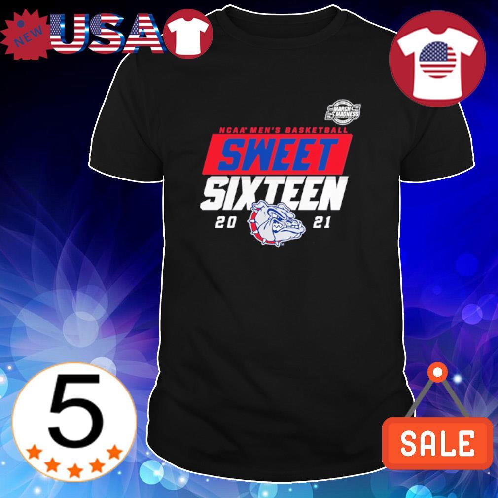 Gonzaga Bulldogs NCAA men's basketball sweet sixteen 2021 shirt