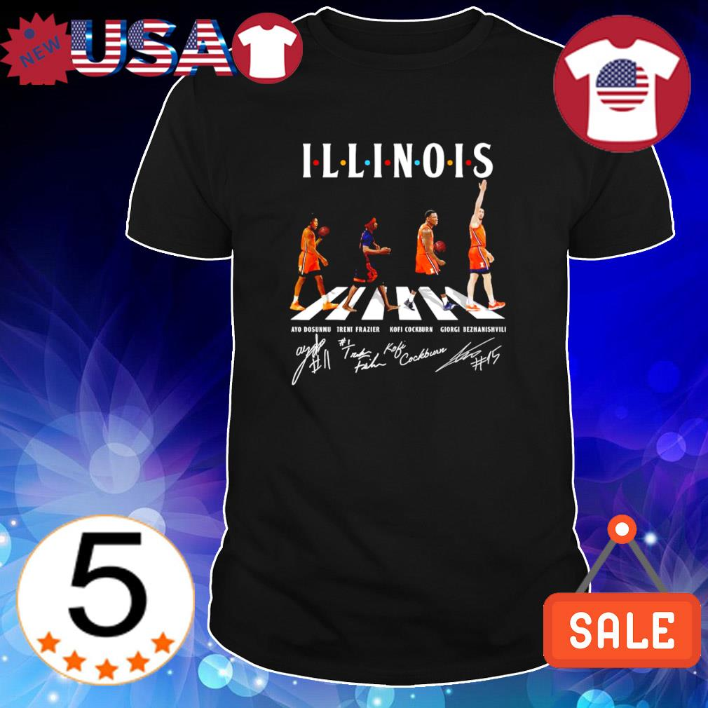 Illinois best players Abbey Road shirt