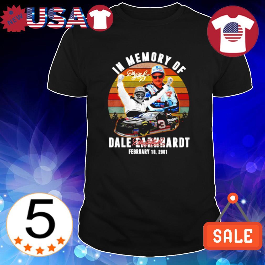 In memory of Dale Earnhardt shirt
