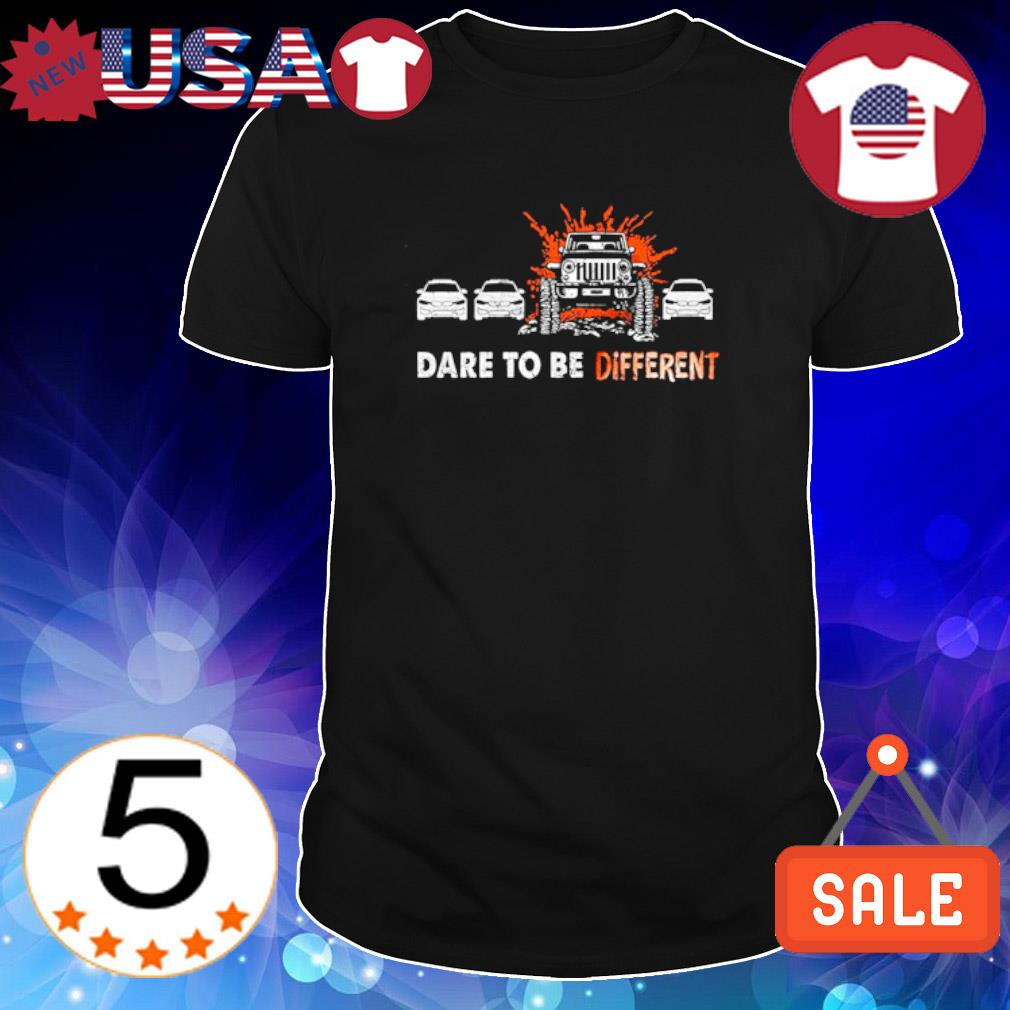 Jeep dare to be different shirt