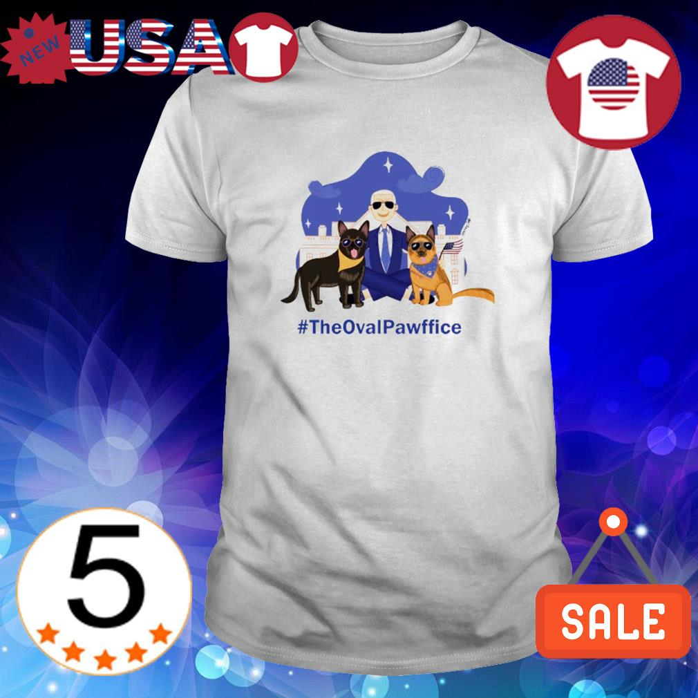 Joe Biden's Dogs the oval pawffice shirt