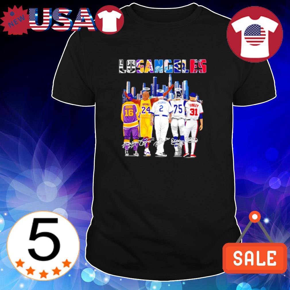 Los Angeles best players Dionne Bryant Lasorda Finley shirt