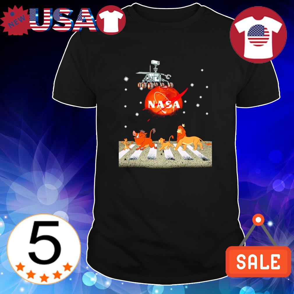 Nasa Sars The Lion King mashup Abbey Road shirt