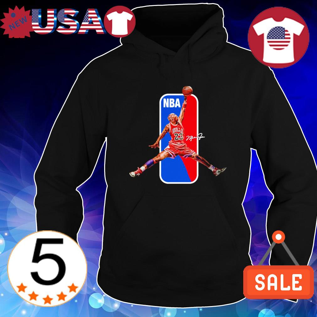 NBA Bulls Michael Jordan air signature s Hoodie Black