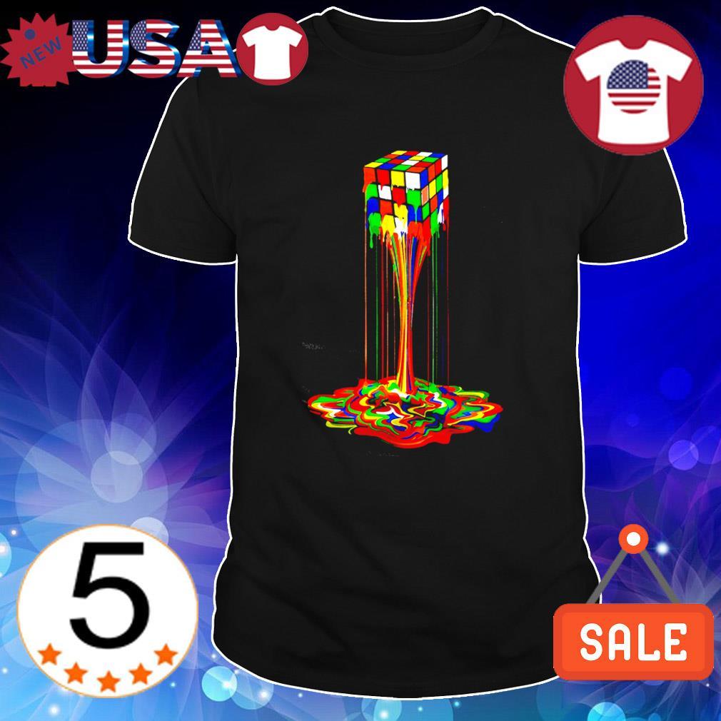 Rubiks Cube Dripping shirt
