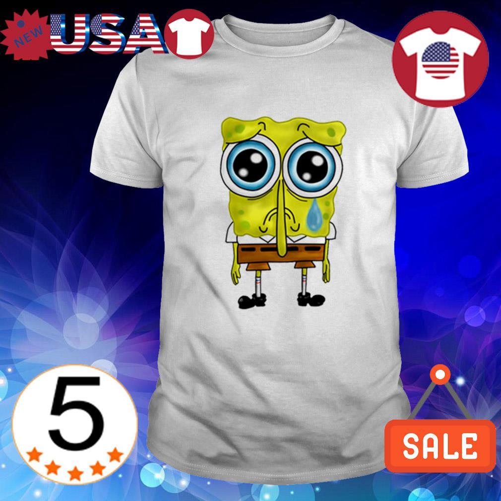 Sad Spongebob shirt