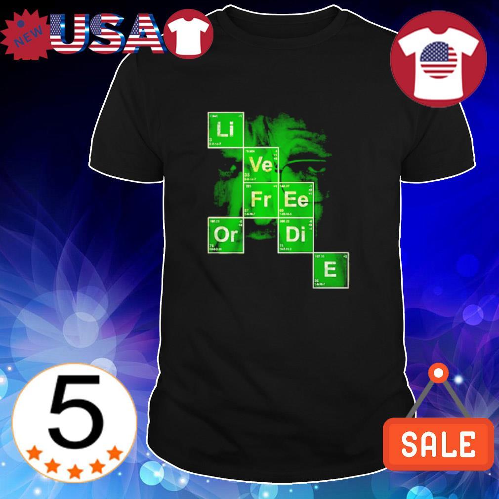 Science live free or die shirt