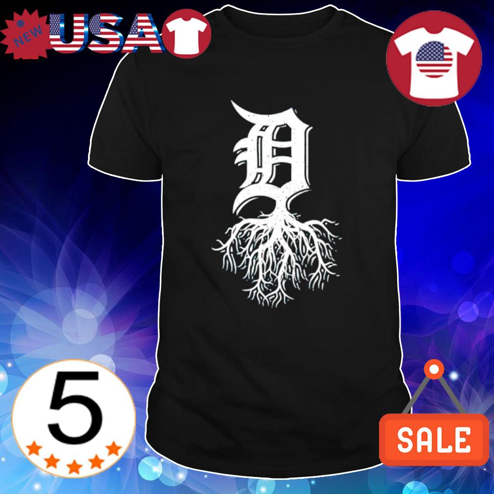 Detroit Roots Michigan American Born Rooted American shirt