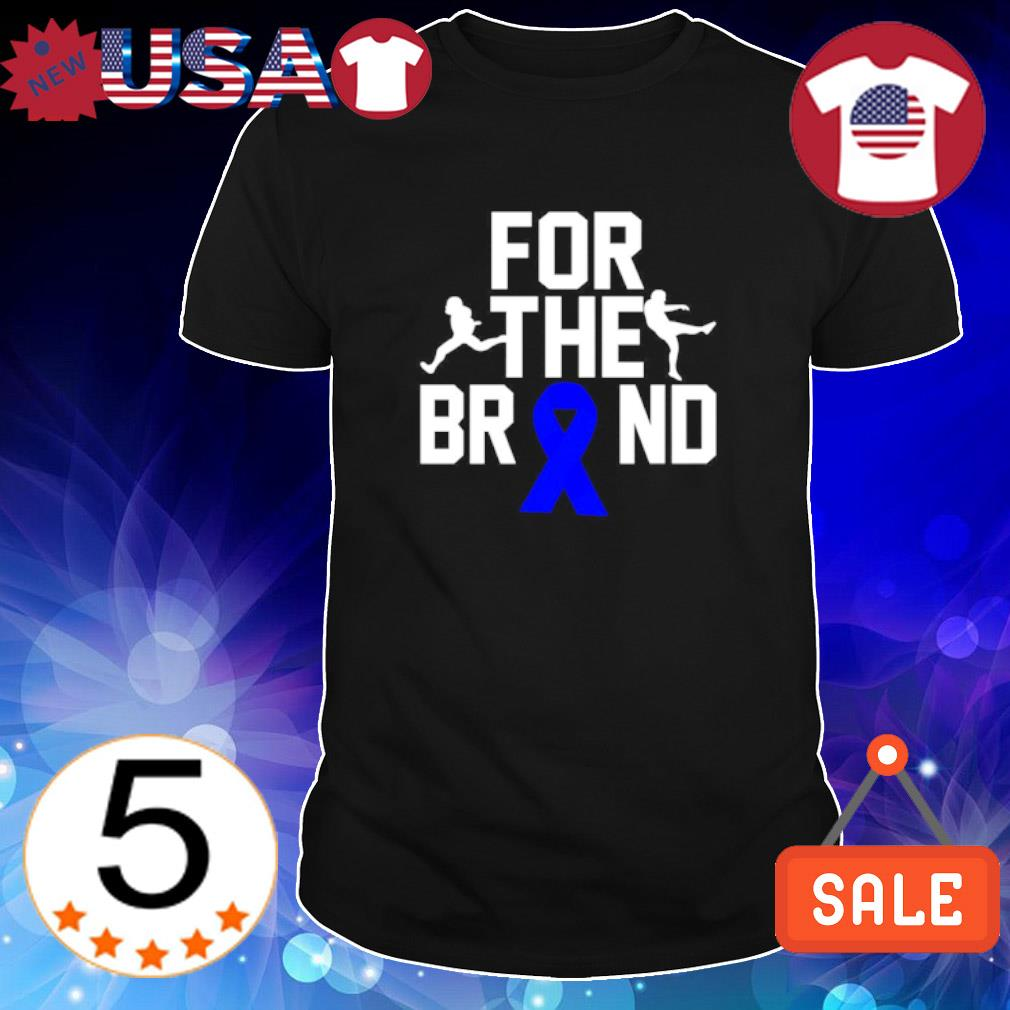 For the brand shirt