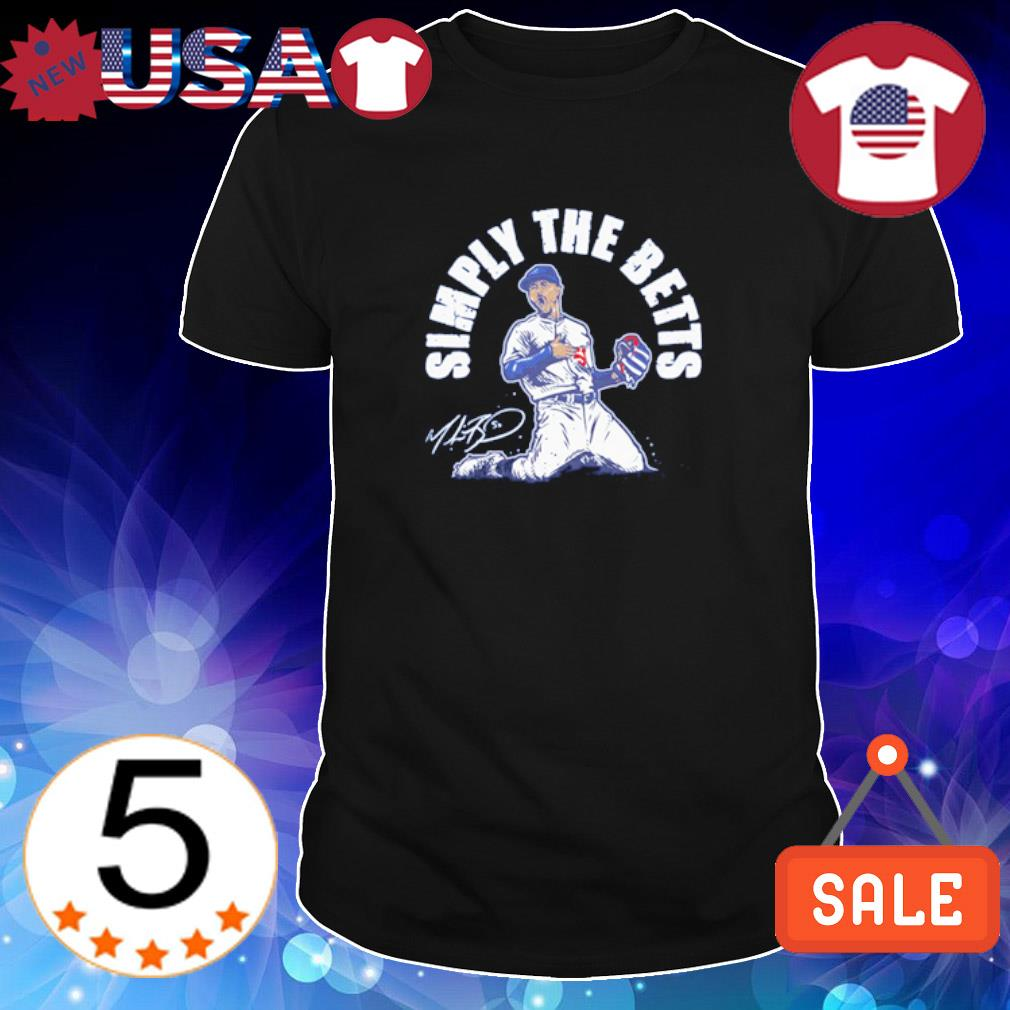 Mookie Betts simply the betts shirt