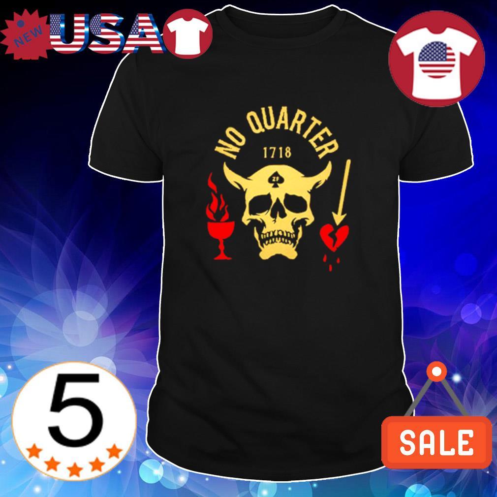 Satan no quarter 1718 shirt