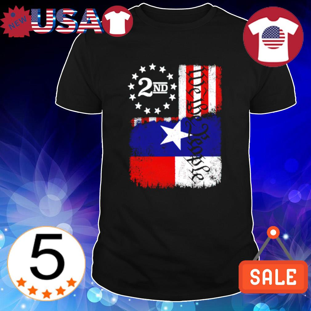 Texas Blended 2A Flag shirt