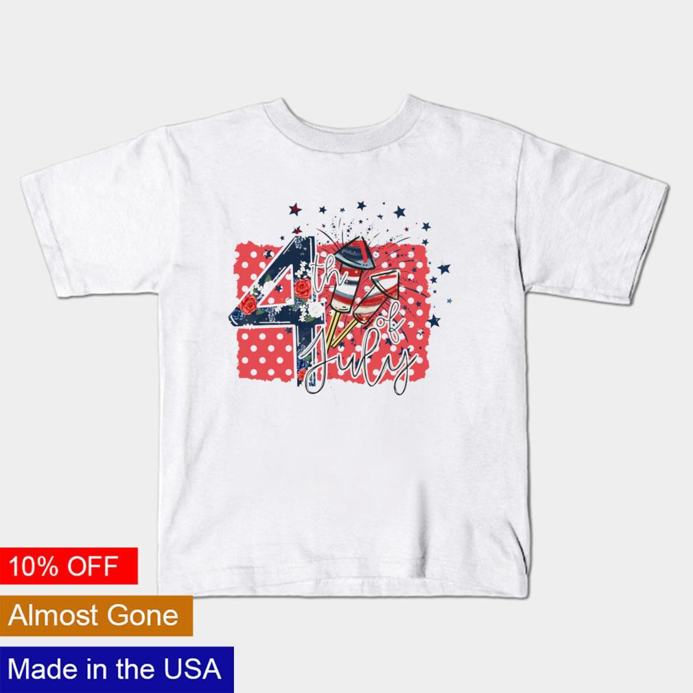 Firework 4th of july Independence Day shirt