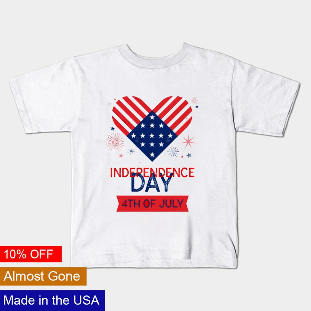 Love Independence Day 4th of July shirt