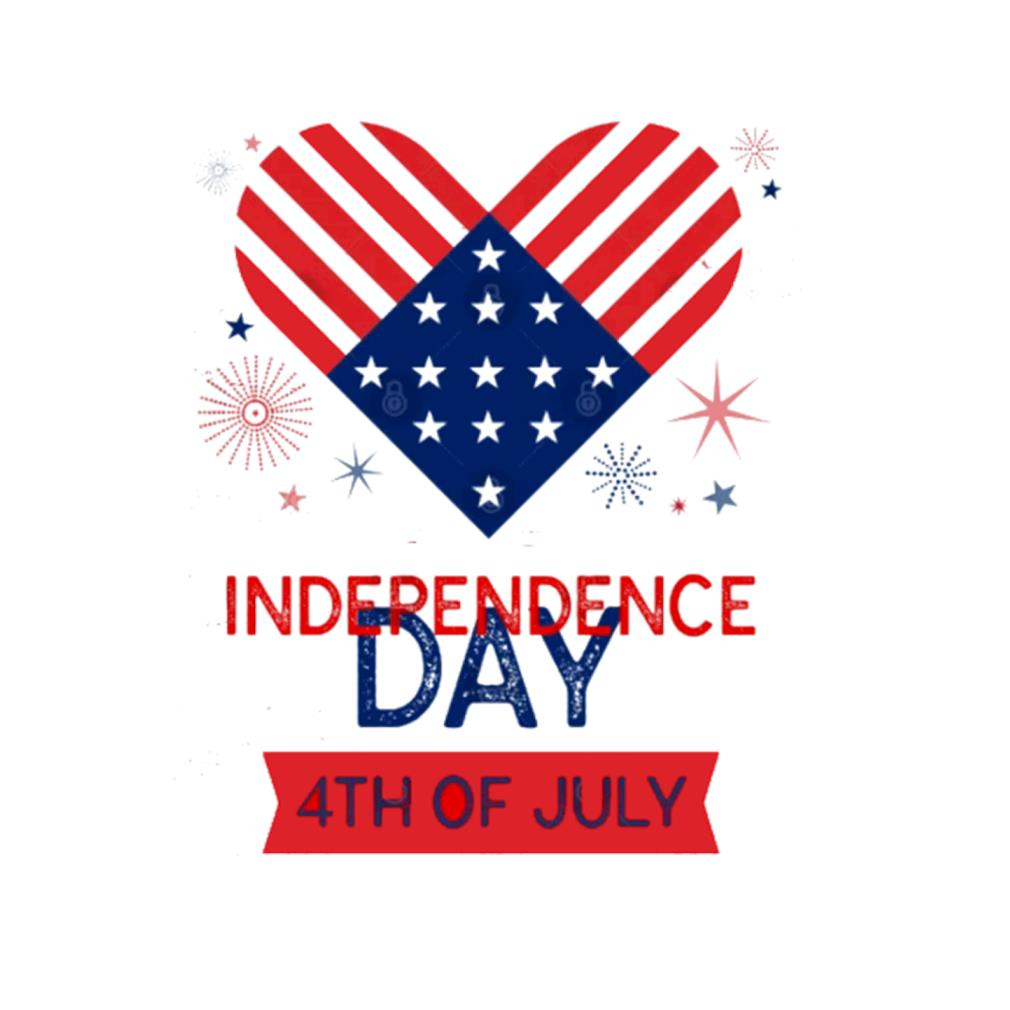 Love Independence Day 4th of July t-shirt