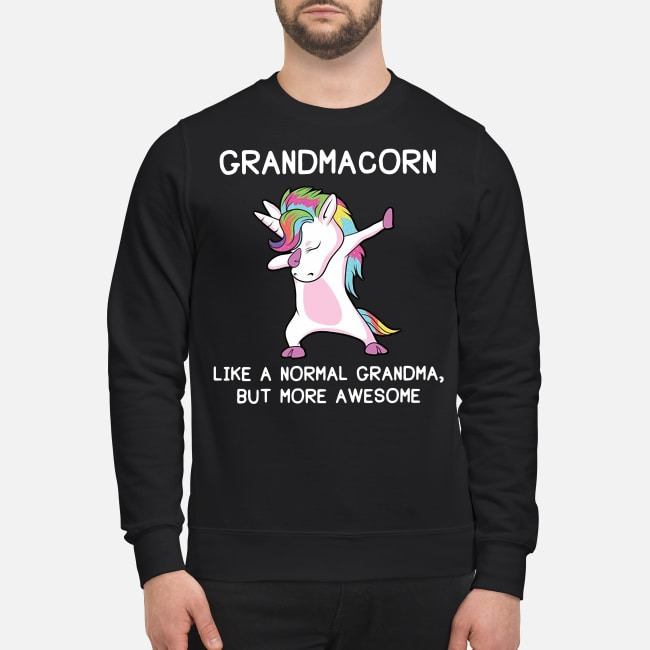 Grandmacorn dabbing like a normal grandma but more awesome shirt