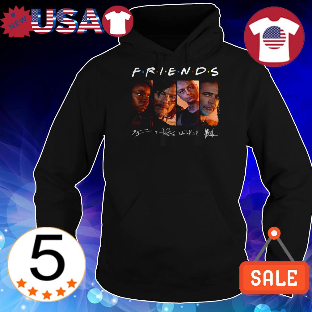 The Walking Dead characters Friends TV Shows shirt