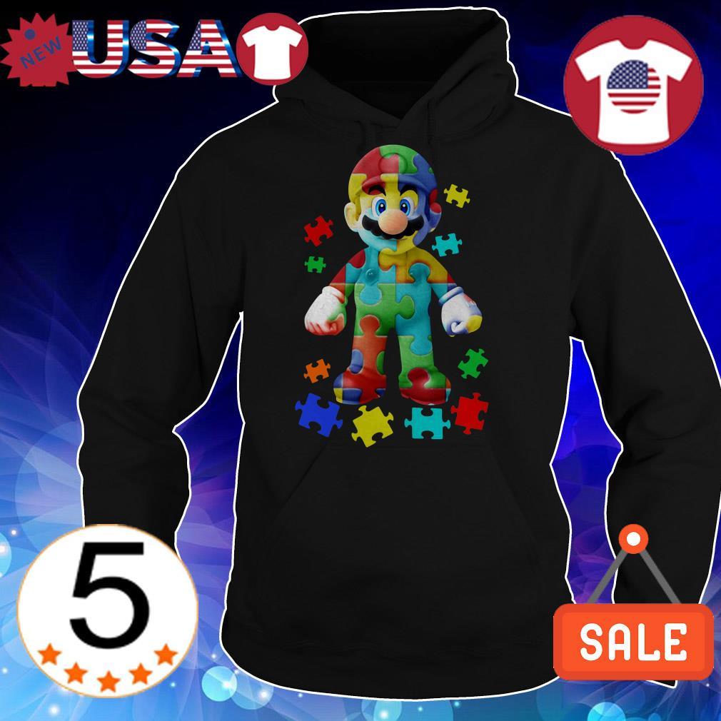 Mario Autism Awareness shirt