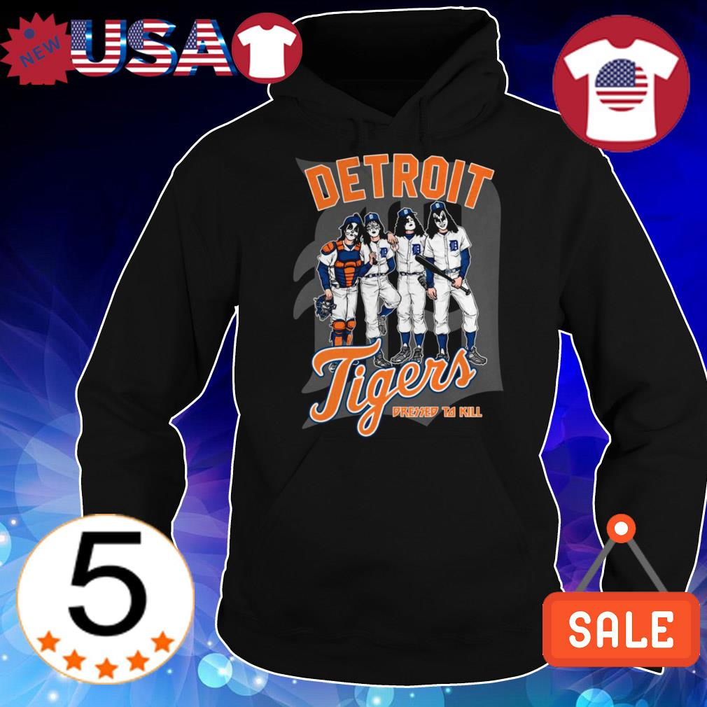 Detroit Tigers dressed to kill shirt