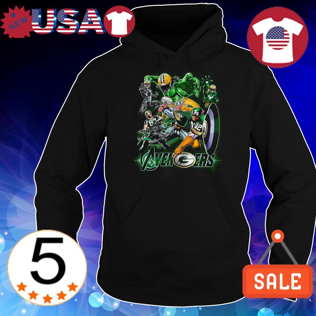 Green Bay Packers Marvel Avengers shirt