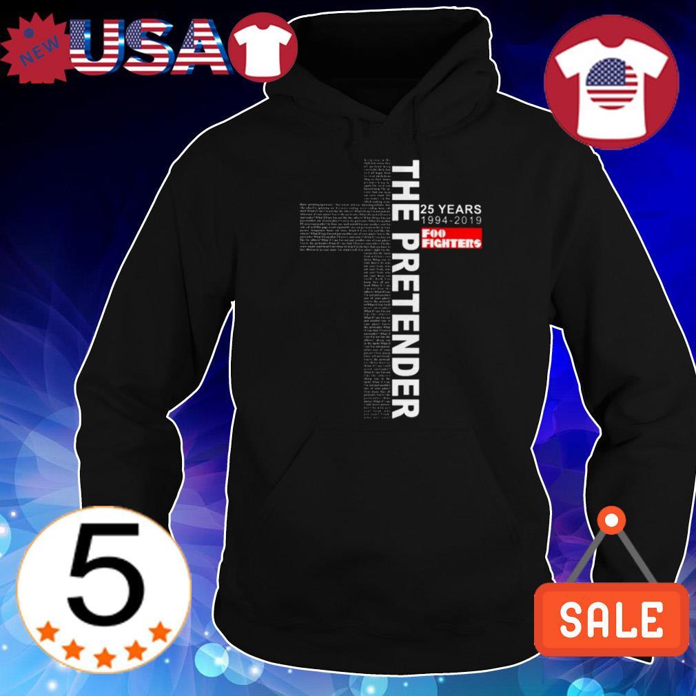 The Pretender 25 years 1994-2019 Foo Fighters Jesus shirt