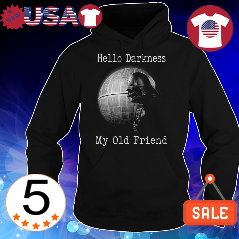 Star Wars Darth Vader hello darkness my old friend shirt