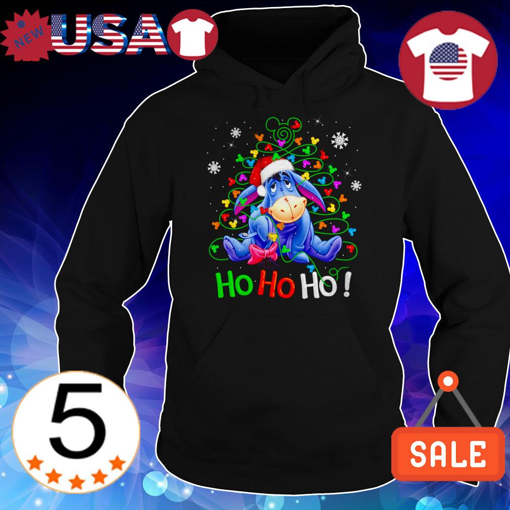 Disney Eeyore Ho Ho Ho Chrismas sweater