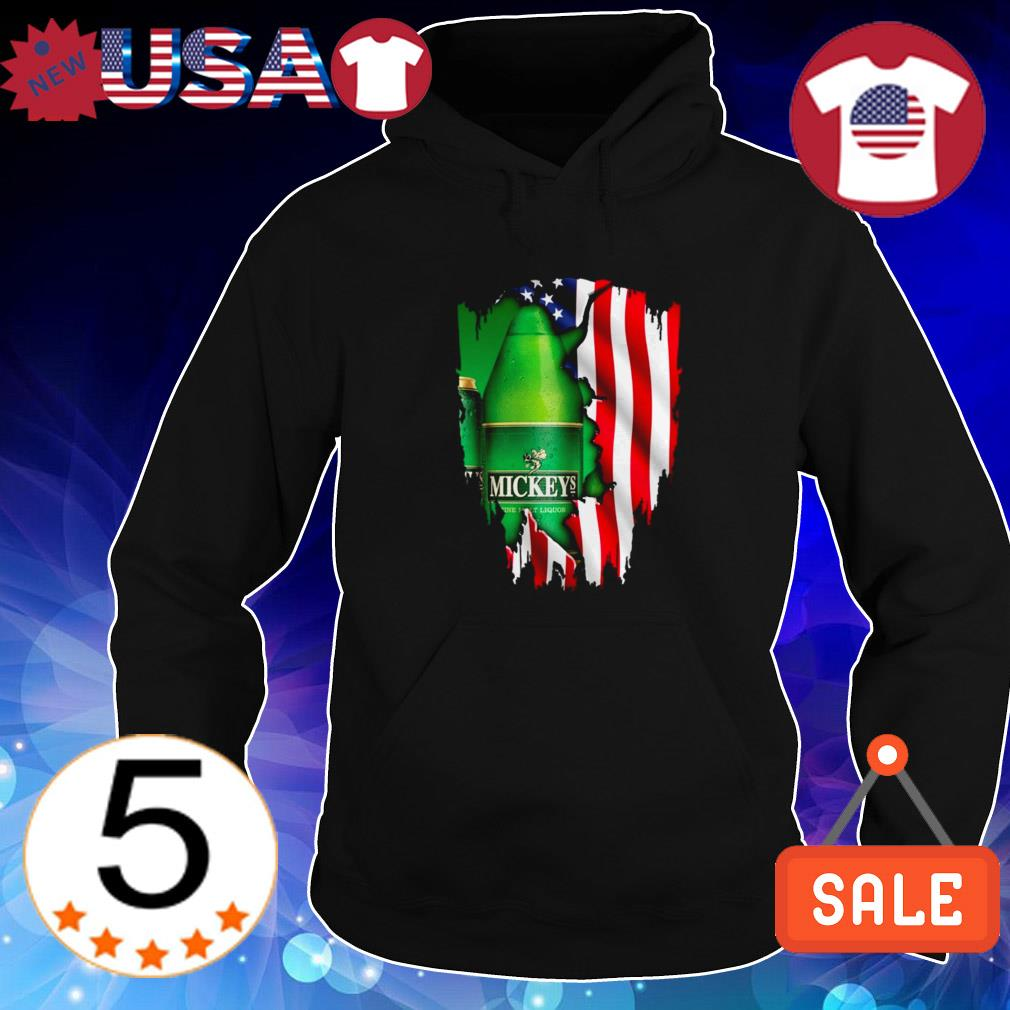 4th Of July independence day Mickey's Fine Malt Liquor shirt