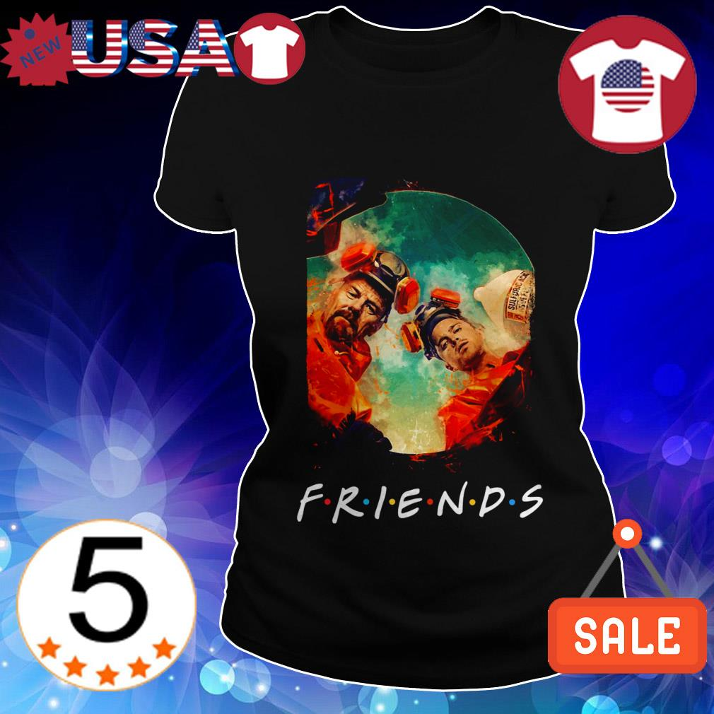 Breaking Bad Walter And Jessie Friends TV Show shirt