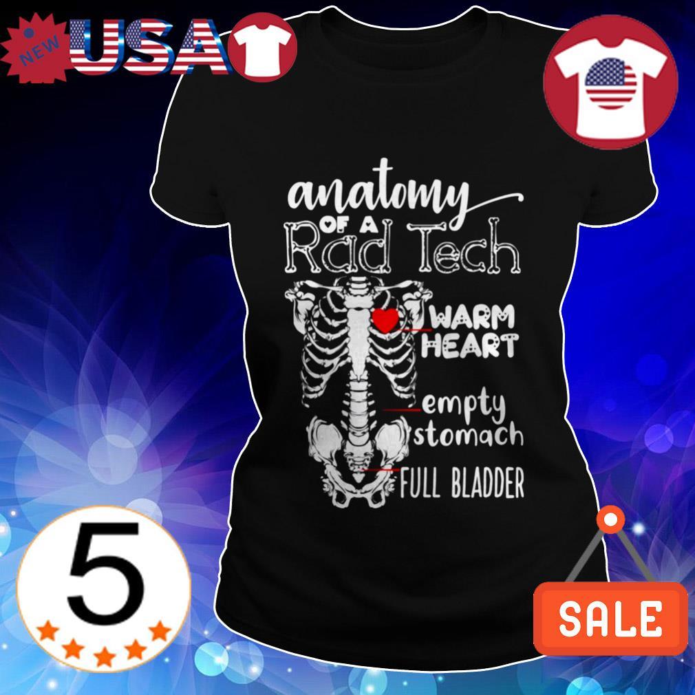 Anatomy of a Rad Tech shirt