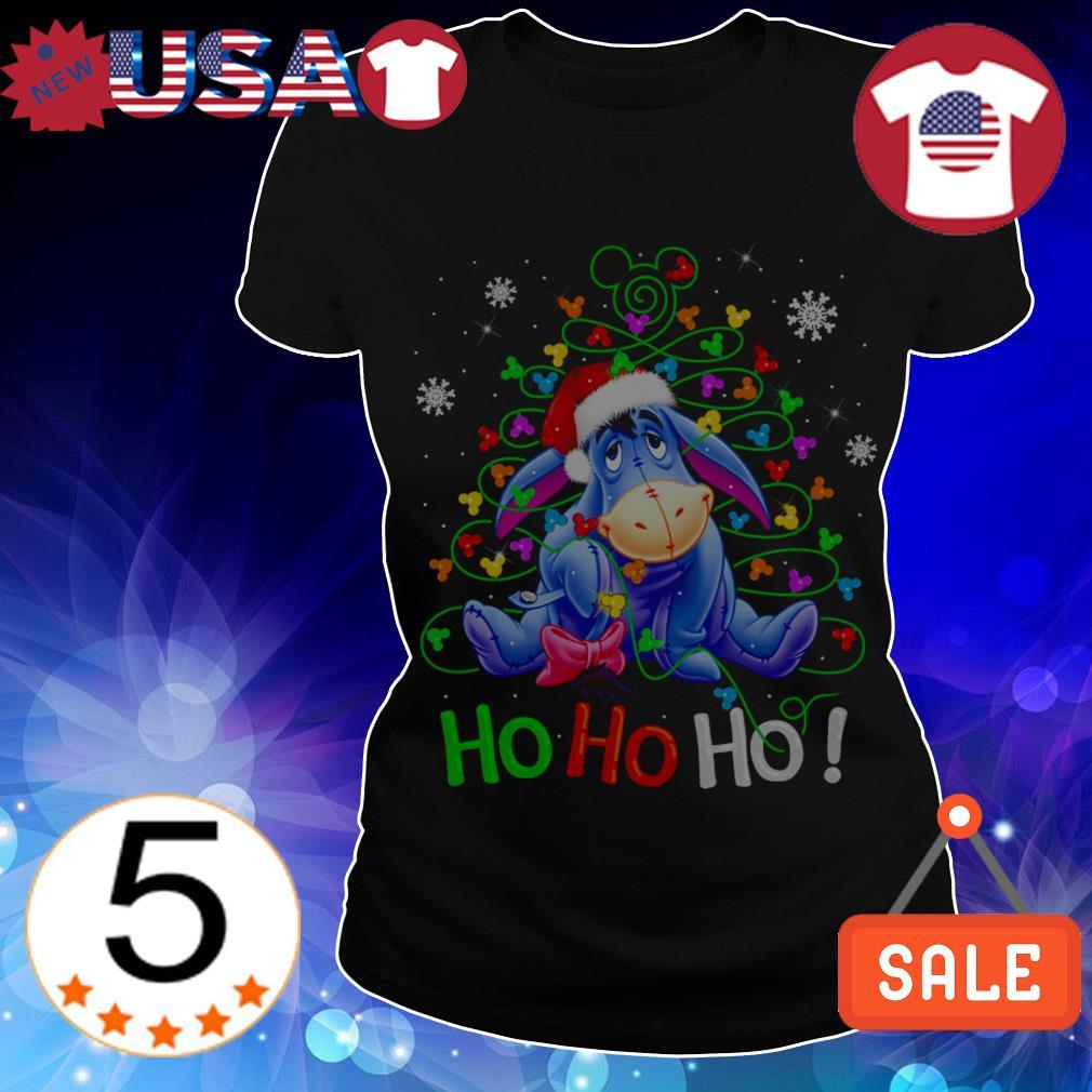 Disney Eeyore Ho Ho Ho Chrismas sweater