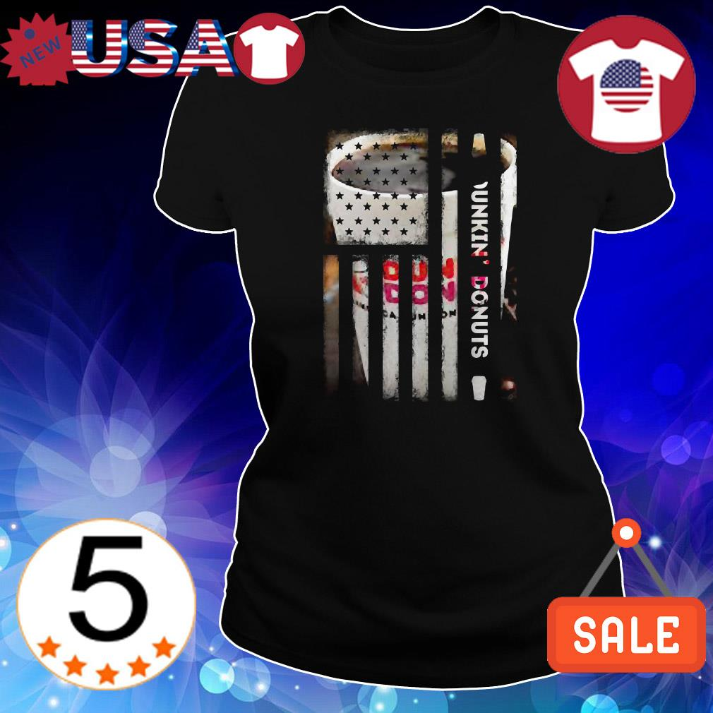 4th Of July independence day Dunkin Donuts shirt