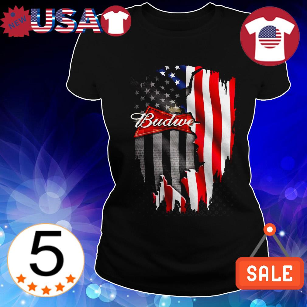 4th Of July independence day Budweiser shirt