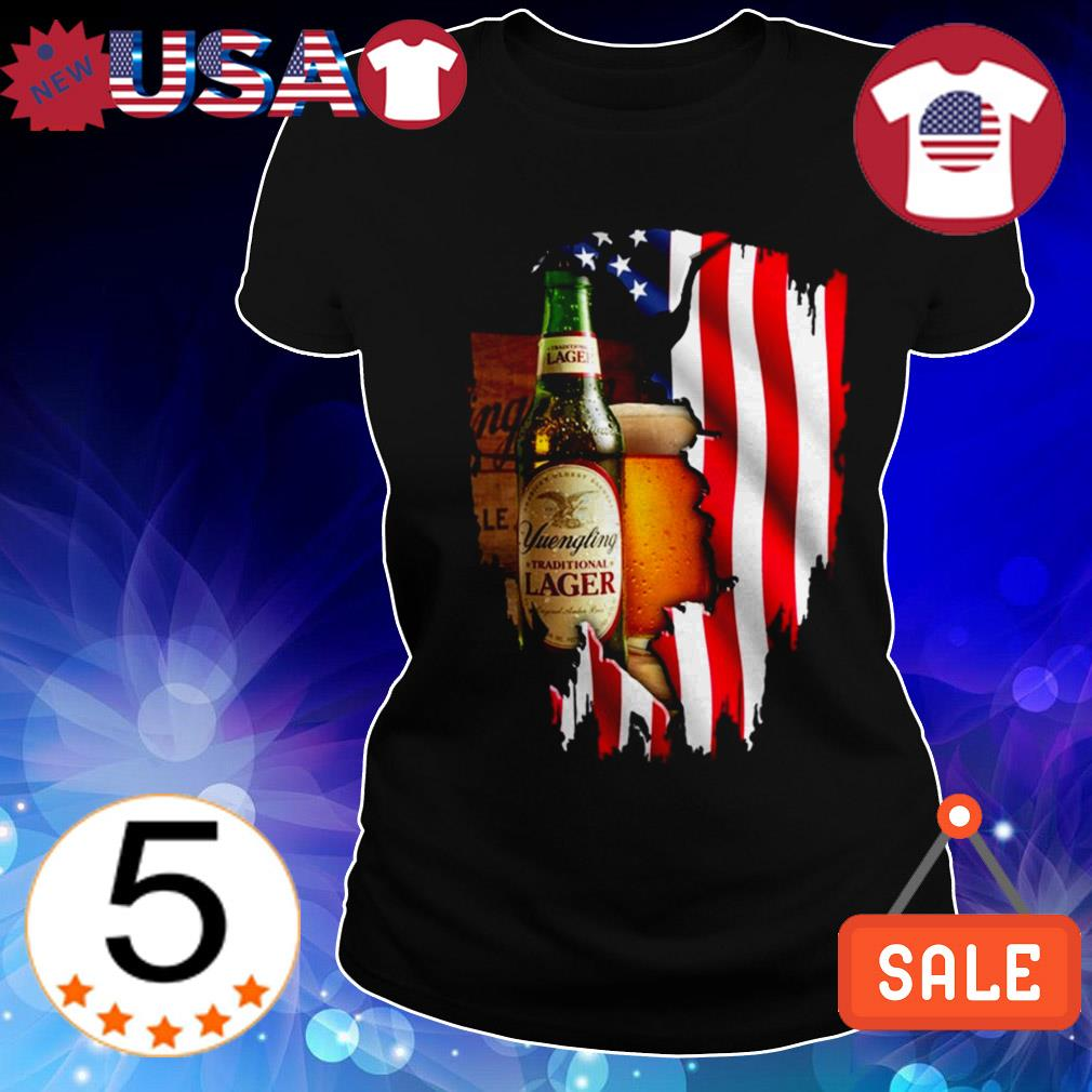 4th Of July independence day Yuengling Lager Beer shirt