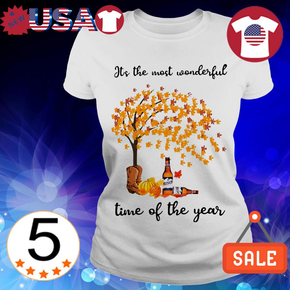 Busch Light it's the most wonderful time of the year shirt