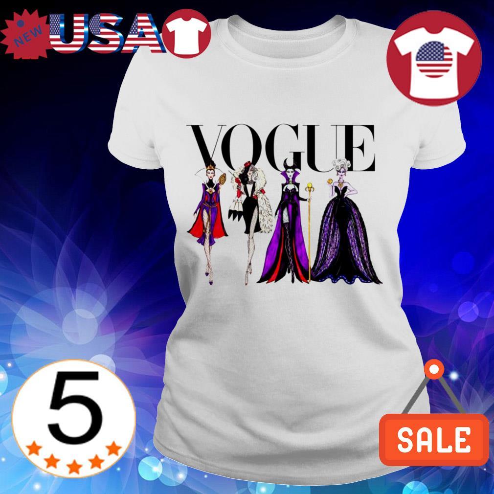 Vogue Disney Villains shirt