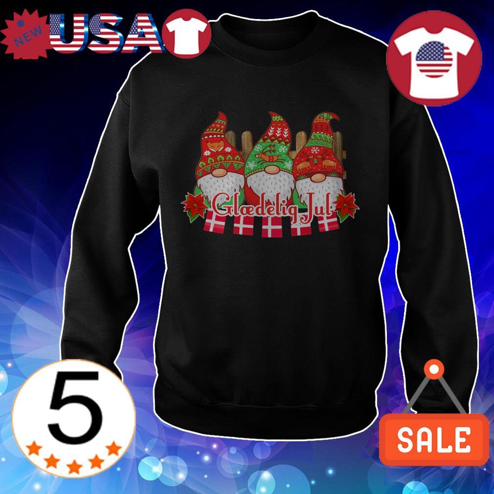 Glaedelig jul Christmas shirt
