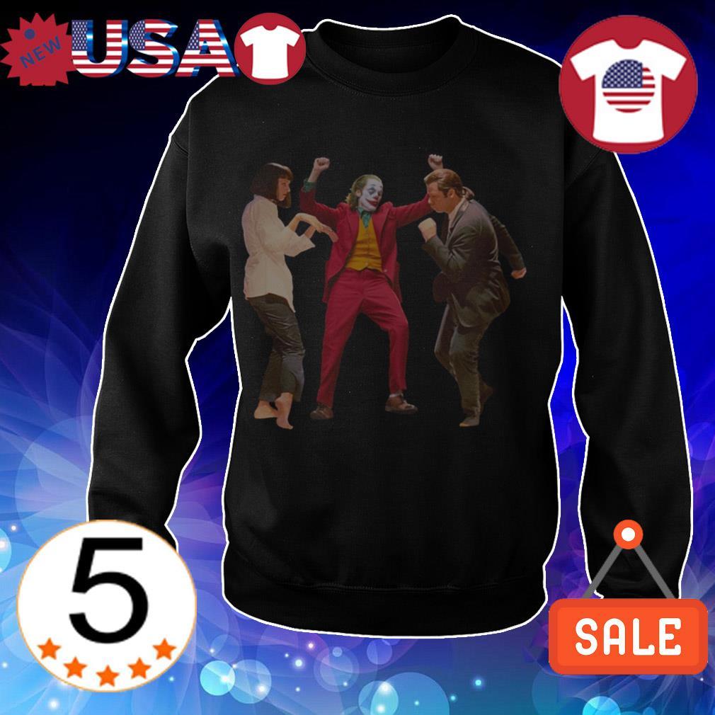 Joker dance Pulp Fiction shirt