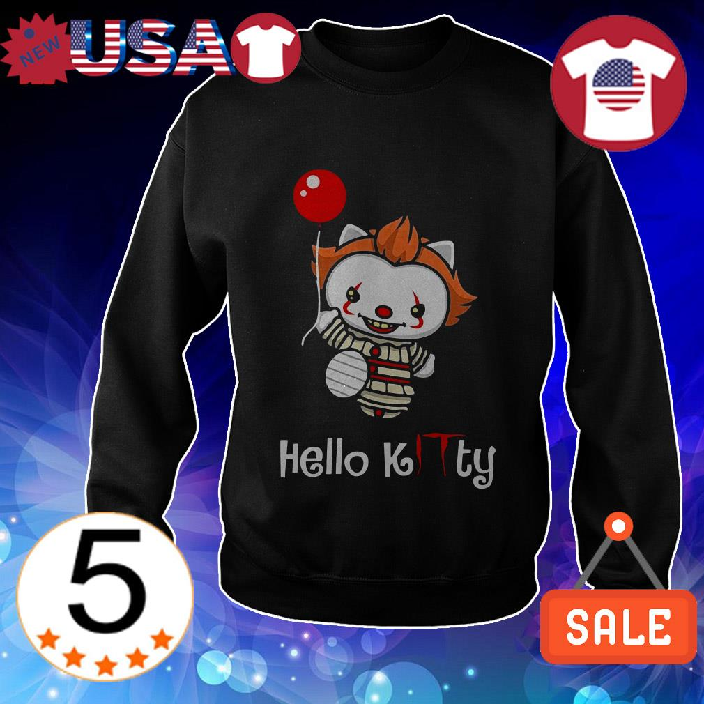Kitty Pennywise hello Kitty shirt