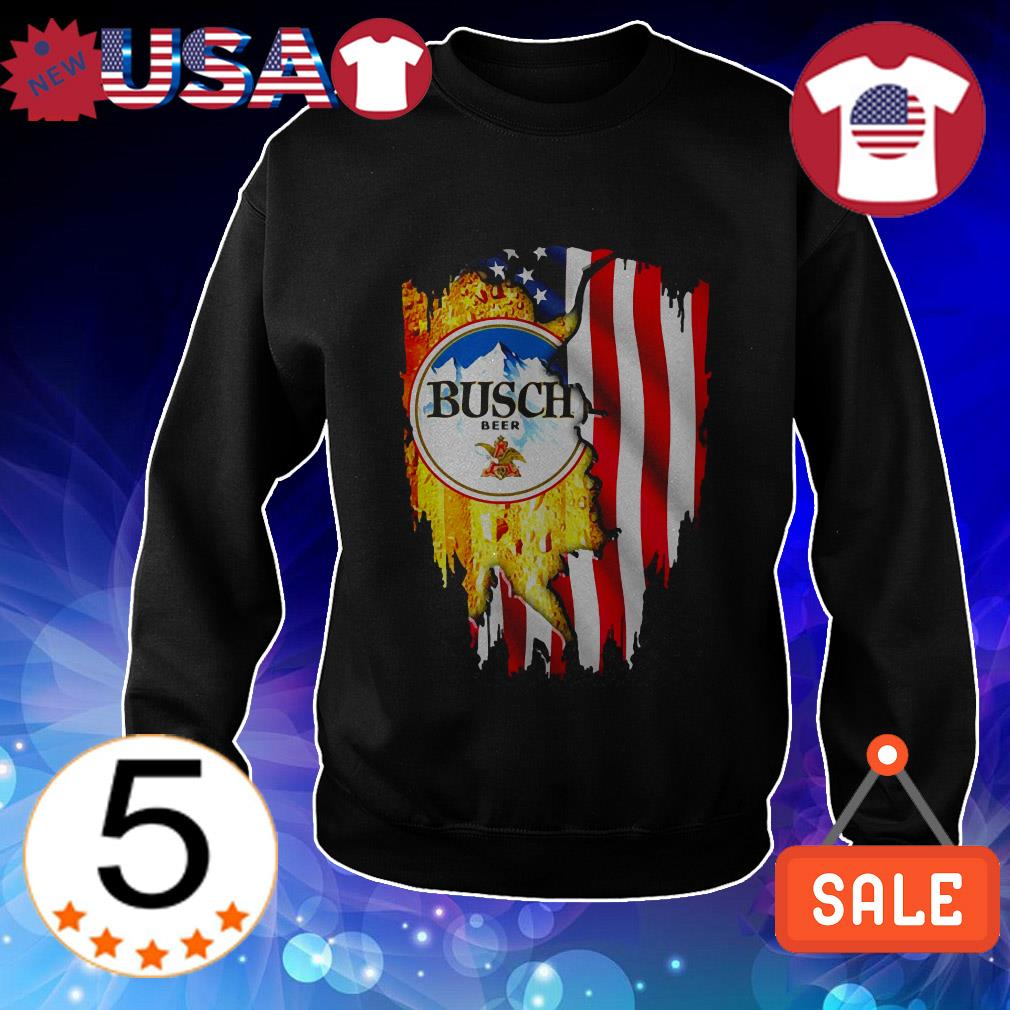 4th Of July independence day Busch Beer shirt